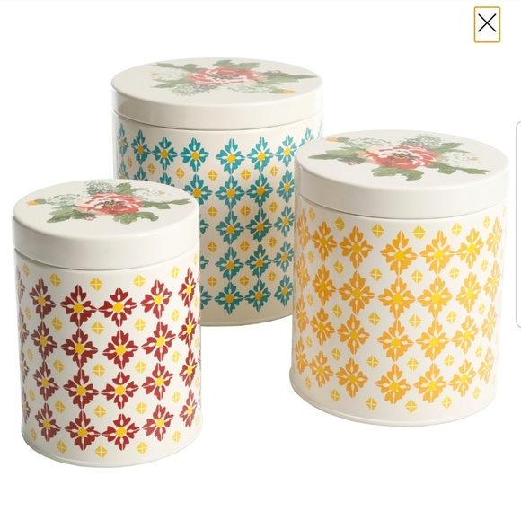 Pioneer Woman Canister Set